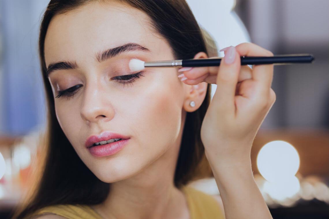 makeup artist kit eye shadow