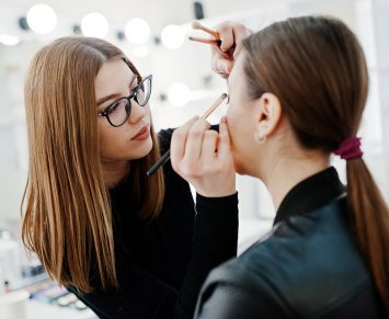 makeup artist course, being a full time makeup artist