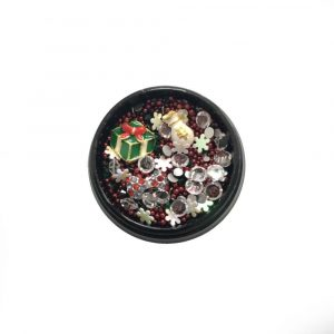 3D Christmas Nail Art Embellishments - Festive Accessories #06