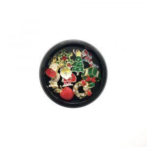 3D Christmas Nail Art Embellishments Charms - Festive Accessories #07