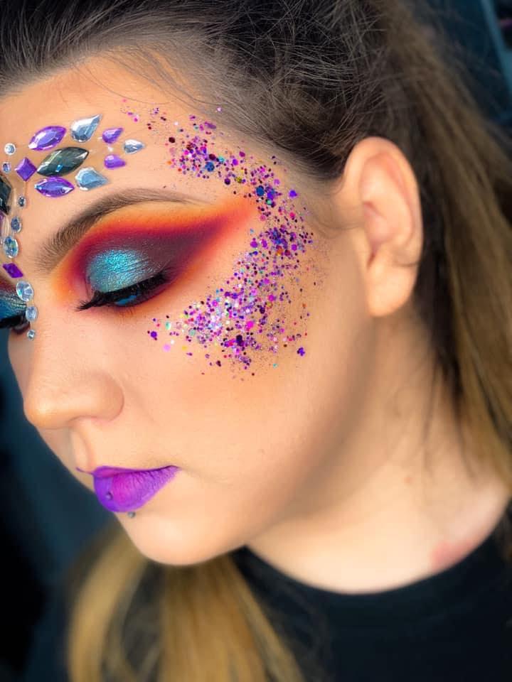 Posh Look festival makeup