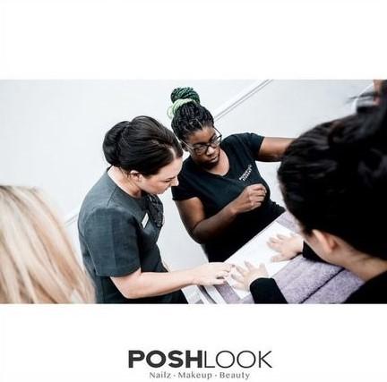 nail technician training with PoshLook